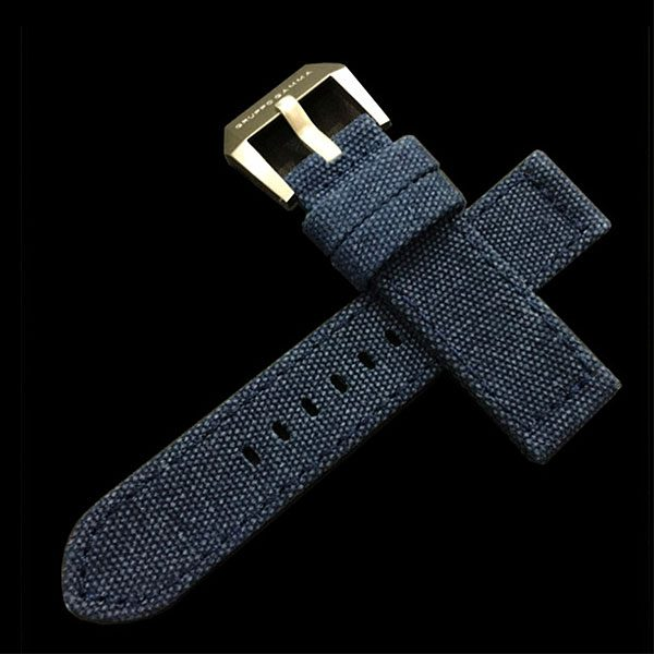 Gruppo Gamma - Canvas Watch Strap in Blue