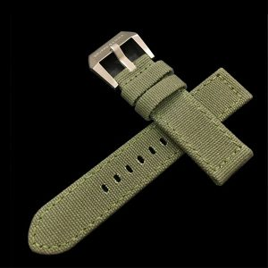 Gruppo Gamma - Canvas Watch Strap in Green