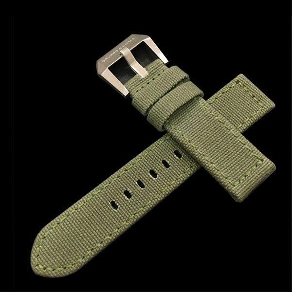 Gruppo Gamma - Canvas Watch Strap in Green