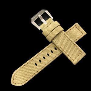 Gruppo Gamma - Canvas Watch Strap in Khaki