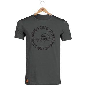 memento audere semper atracite t-shirt