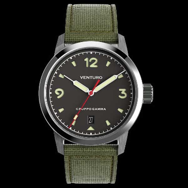Venturo Field Watch 1 - Black Dial
