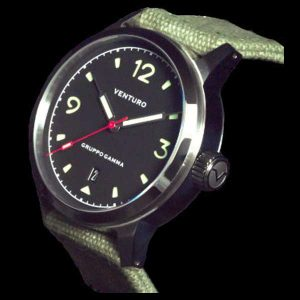 Venturo Field Watch 1 - Black Dial