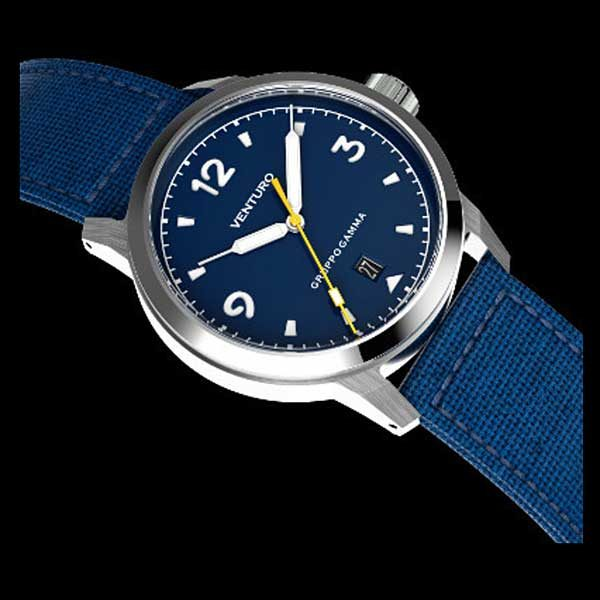 Venturo Field Watch 1 - Blue Dial