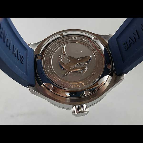 San Martin for VB Watches Professional Diver Watch - SN039 - Blue