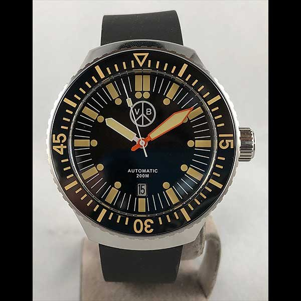 San Martin for VB Watches Professional Diver Watch - SN039 - Black