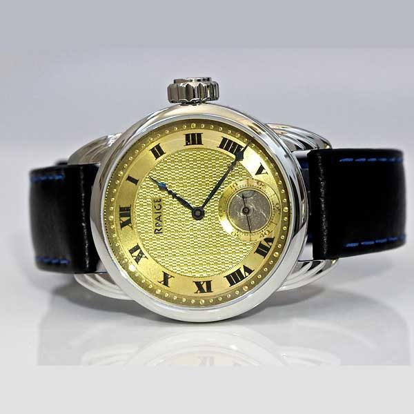 Rpaige Watch Company - Sterling with gold top antique dial