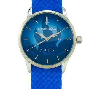 Fury Quartz Watch - Blue