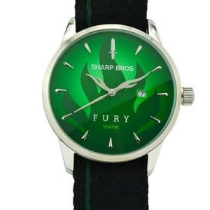 Fury Quartz Watch - Green