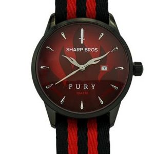 Fury Quartz Watch - Red