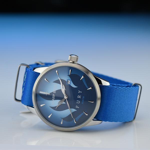 Fury Quartz Watch - Blue